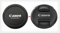 Objektívsapka Canon-feliratos
