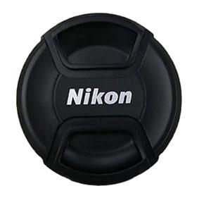 LC-55 utángyártott objektív sapka 55mm Nikon objektívekhez.
