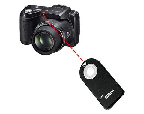 ML-L3 utángyártott infra távkioldó Nikon gépekhez