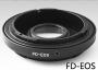 Canon Fd -Canon EOS adapter