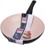 Kerámia bevonatú aluminium wok serpenyő 28 cm
