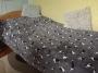 Puha ágytakaró Border Collie mintával  200x150
