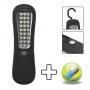 Steklámpa 27 LED-del Ajándék elemekkel !