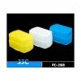 Színes vaku diffúzor  430EX ( fehér, sárga ,kék)