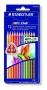 """Színes ceruza készlet, háromszögletű, STAEDTLER """"Noris Club"""", 12 különböző szín"""