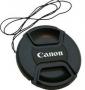 E-49U objektívsapka ( Nikon stílusú ) 49mm-es Canon felirattal
