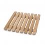 Edényalátét bambusz 17x17 cm