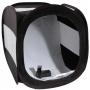 Fekete professzionális fénysátor (60x60x60cm)