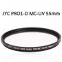 Jyc Pro1-D  vékony Mc UV szűrő 55mm