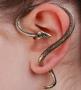 Különleges kígyó fülbevaló 1 db