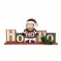 Karácsonyi polcdísz mikulással – 32 x 15,2 cm
