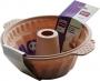 Kuglóf sütőforma szilikonból (22cm)(CAPPUCCINO)