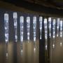 LED jégcsap 8 funkciós fehér