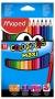 Maped Maxi színes ceruza készlet - háromszög alakú - 12 db
