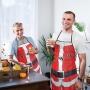 Mikulás karácsonyi kötény 2 fajta
