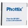 NP-BN1 SONY utángyártott akkumulátor Phottix