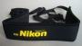 Neoprene nyakpánt SLR-DSLR gépekhez  Nikon felírattal
