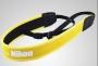 Neoprene nyakpánt SLR-DSLR gépekhez  Nikon felirattal