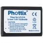 PHOTTIX LI-ION AKKUMULÁTOR LP-E10 CANON