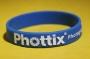 Phottix szilikon karkötő kék