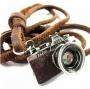 Retro fényképezőgép , nyaklánc