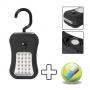 Steklámpa 24+4 LED-del Ajándék elemekkel !