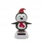 Szolár karácsonyi dekoráció pingvin