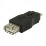 USB 2.0 USB A aljzat – USB mikro B dugasz adapter