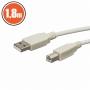 USB kábel A dugó - B dugó 1,8 m
