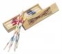 Mikado társasjáték fa dobozban