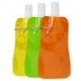 Összehajtható kulacs vegyes színek  480 ml