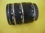 Phottix 3 db -os autófókusz makró közgyűrű Nikon-hoz 12/20/36 mm